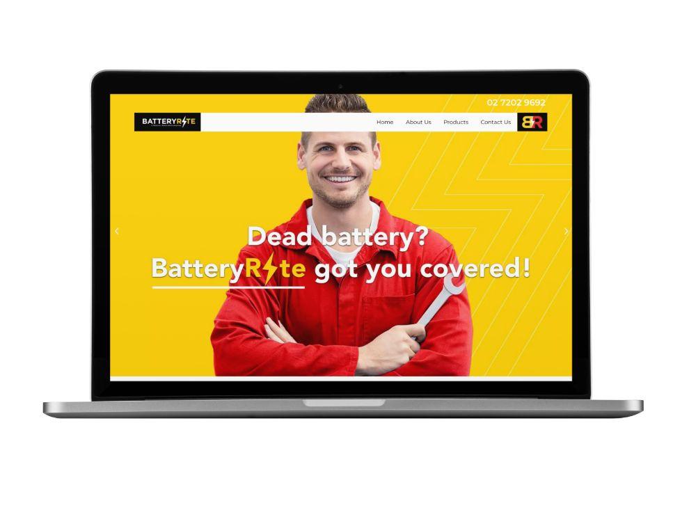 Web Design for BatteryRite